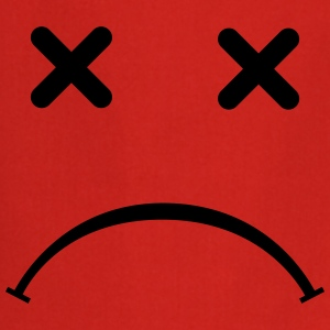 Sad (triste) Smiley - After Party Delantales - Delantal de cocina
