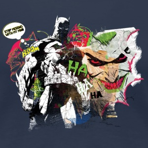Batman Comic Composition Joker dame-T-shirt - Dame premium T-shirt
