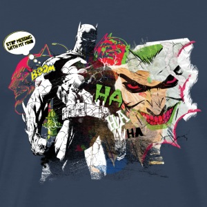 Batman Comic Composition Joker Männer T-Shirt - Männer Premium T-Shirt