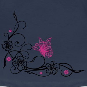 Blumen Tribal, Tattoo, butterfly T-Shirts - Frauen Premium T-Shirt