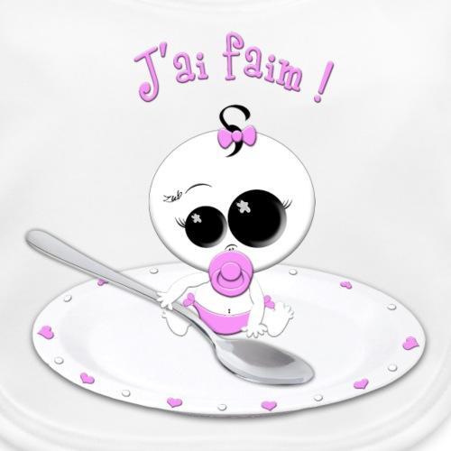 J'AI FAIM ! (rose)