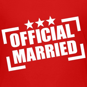 Official Married T-Shirts - Kinder Premium T-Shirt