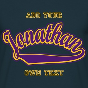 Jonathan - T-shirt Personalised with your name T-Shirts - Men's T-Shirt
