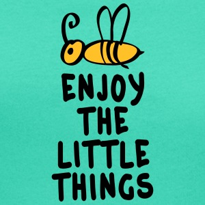 enjoy the little things 2c T-shirts - Vrouwen T-shirt met U-hals