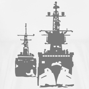 NAVY ship T-Shirts - Men's Premium T-Shirt