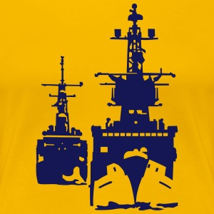 NAVY ship T-Shirts - Women's Premium T-Shirt