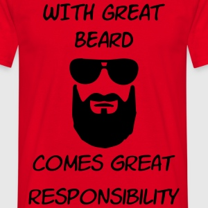 great beard T-shirts - T-shirt herr
