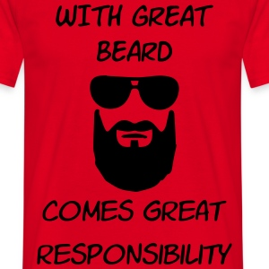 great beard T-shirts - Mannen T-shirt