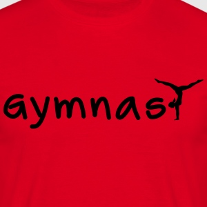 Gymnast Tee shirts - T-shirt Homme