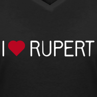 Motiv ~ I-love-Rupert-Shirt (V-Neck)