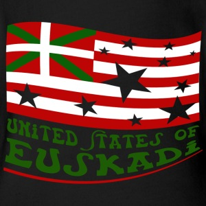 United States of Euskadi 2 Tee shirts - Body bébé bio manches courtes