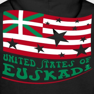 United States of Euskadi 2 Vecteur Sweat-shirts - Sweat-shirt à capuche Premium pour hommes