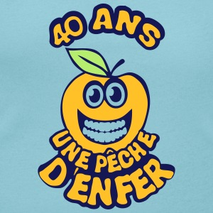 40 ans peche enfer smiley anniversaire Tee shirts - T-shirt col rond U Femme