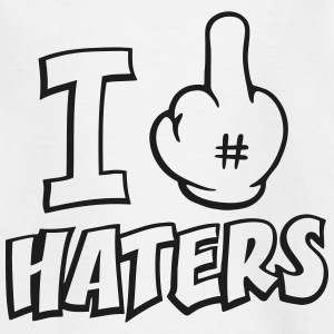 I fuck haters 1c Shirts - Kids' T-Shirt