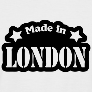 Made in London T-shirts - Mannen baseballshirt korte mouw