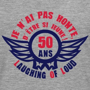 50 ans laughing of loud honte jeune Tee shirts manches longues - T-shirt manches longues Premium Homme