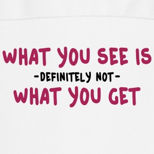 what you see is what you get - wysiwyg 2c Forklær - Kokkeforkle