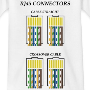 Connectors RJ45 c1 Shirts - Teenage T-shirt