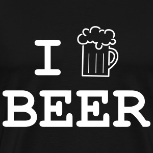 I Love Beer Tee shirts - T-shirt Premium Homme