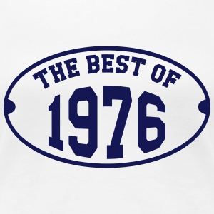 The Best of 1976 T-shirts - Vrouwen Premium T-shirt