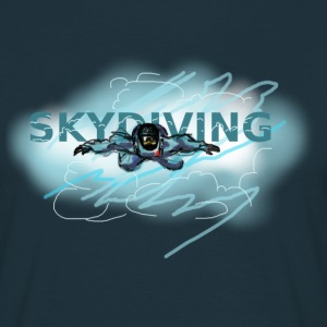 skydiving Tee shirts - T-shirt Homme