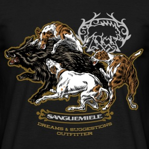 wild_boar_and_hounds Tee shirts - T-shirt Homme