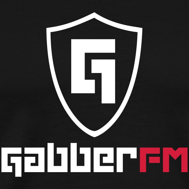Gabber.FM Shield T-Shirt Male