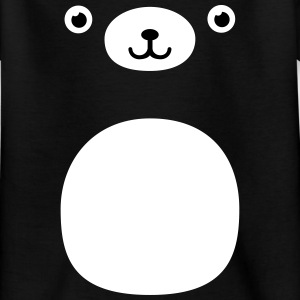 Funny Kawaii Teddy Bear face Shirts - Teenage T-shirt