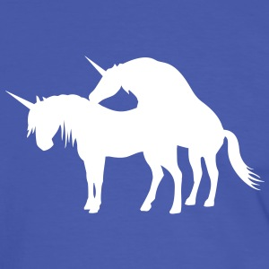 Unicorns Make Love T-Shirts - Men's Ringer Shirt
