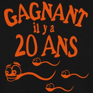 20 ans gagnant spermatozoide course Sweat-shirts - Sweat-shirt Homme