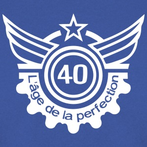 40 ans age perfection anniversaire Sweat-shirts - Sweat-shirt Homme