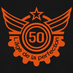 50 ans age perfection anniversaire Sweat-shirts - Sweat-shirt Homme