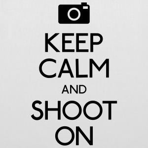 Keep Calm an Shoot on bevare roen et shoot Tasker & rygsække - Mulepose