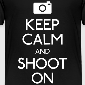 Keep Calm an Shoot on Shirts - Kids' Premium T-Shirt