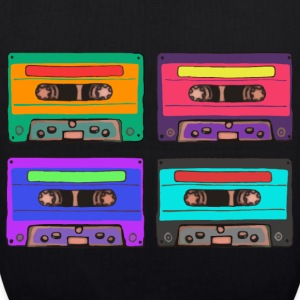 Colorful Cassettes square Bags & Backpacks - EarthPositive Tote Bag