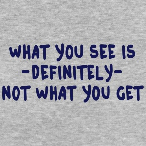 what you see is what you get - wysiwyg Camisetas - Camiseta ecológica mujer