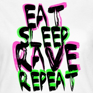 Rave Repeat T-shirts - Dame-T-shirt