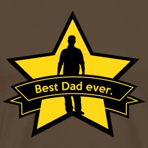 Best dad ever. T-shirts - Herre premium T-shirt