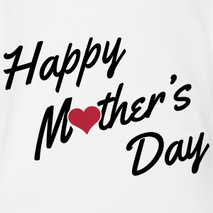Happy Mother's Day Shirts - Baby bio-rompertje met korte mouwen