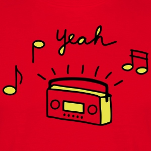Rood Tape Radio T-shirts - Mannen T-shirt