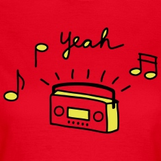 Tape radio yeah -V2 T-Shirts