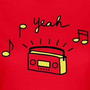 Tape Radio Yeah - V2 T-Shirts - Frauen T-Shirt