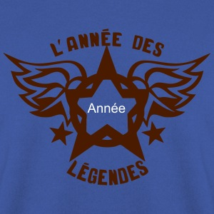 ajouter annee legende logo anniversaire Sweat-shirts - Sweat-shirt Homme