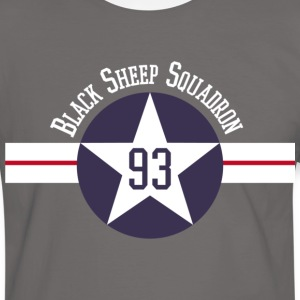 Black Sheep Squadron - T-shirt contraste Homme