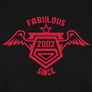 2002 fabulous since logo anniversaire 26 Sweat-shirts - Sweat-shirt Homme