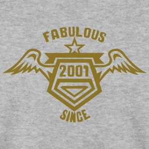 2001 fabulous since logo anniversaire 26 Sweat-shirts - Sweat-shirt Homme