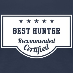 Best Hunter T-shirts - Vrouwen Premium T-shirt