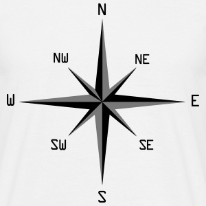 compass rose T-shirts - T-shirt herr