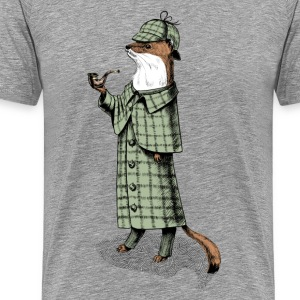 Stoat Detective Tee shirts - T-shirt Premium Homme