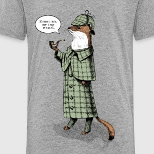 Stoat Detective - quote Shirts - Kids' Premium T-Shirt